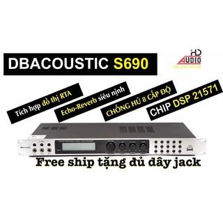 Vang số dB acoustic S690 hàng chính hãng thương hiệu USA tặng full phụ kiện dây kết nối thumbnail