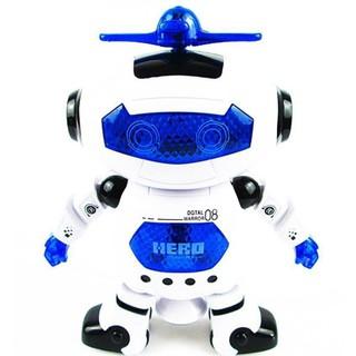 [ Đồ chơi trẻ em] Robot thông minh nhảy múa theo nhạc ROBO (Xanh)
