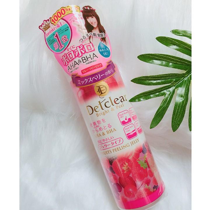 Tẩy Tế Bào Chết Detclear Mix Berry 180ml | Shopee Việt Nam