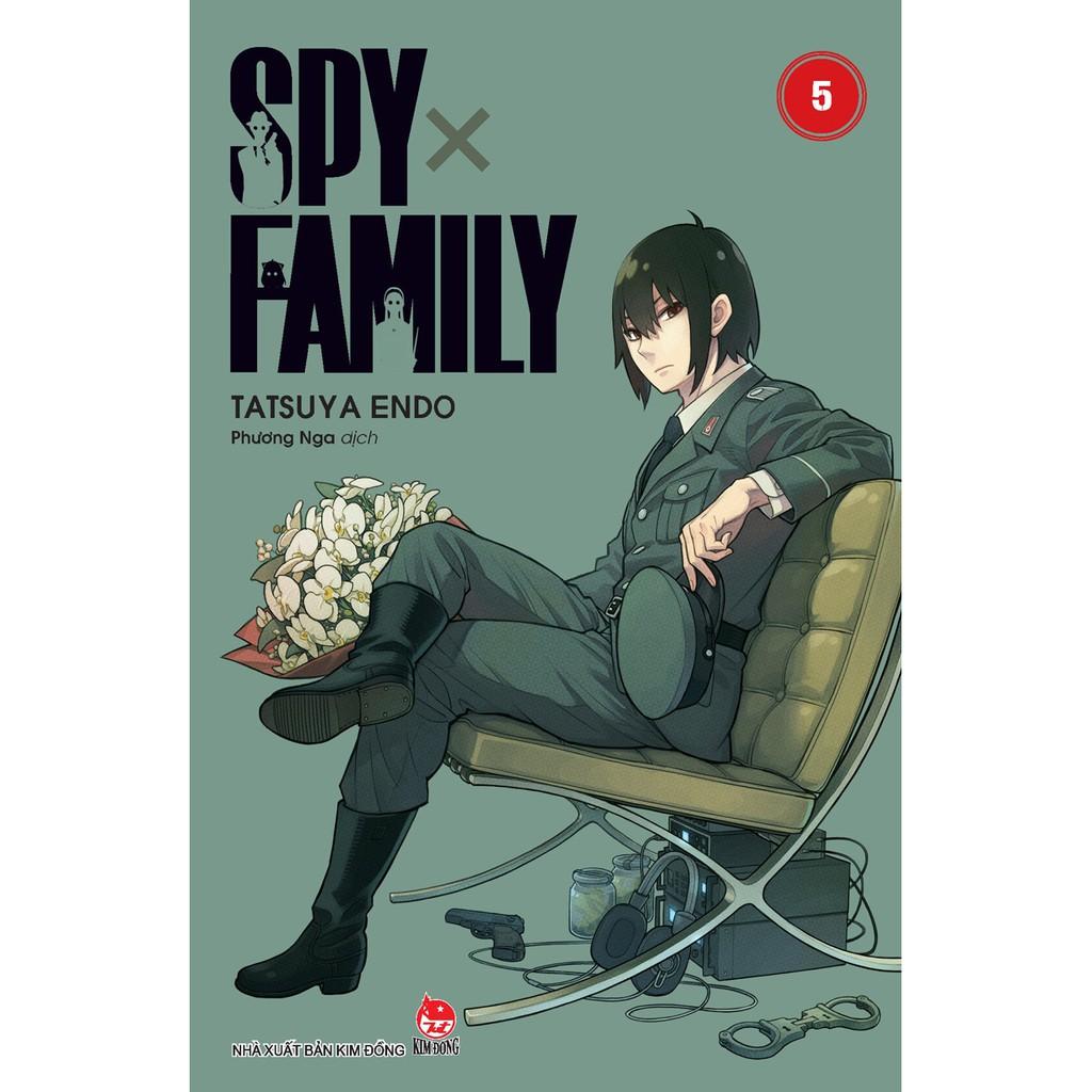 Truyện tranh Spy x Family - Tập 5 - Tặng 1 Standee - NXB Kim Đồng
