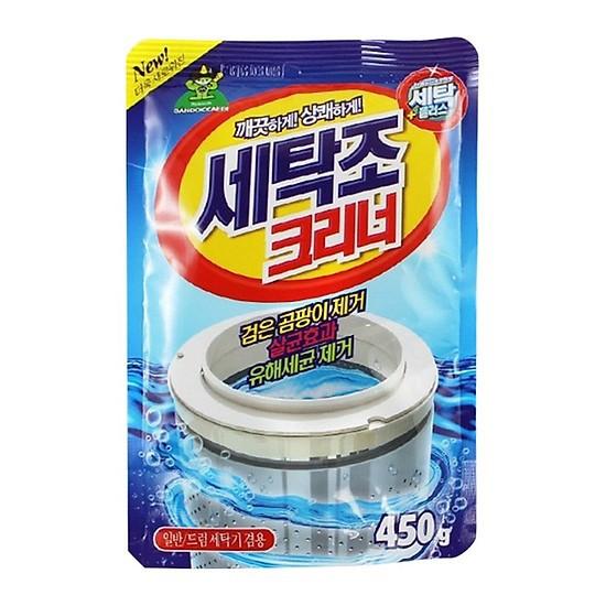 Bột tẩy vệ sinh lồng máy giặt Sandokkaebi - Hàn Quốc - 23063938 , 7809937044 , 322_7809937044 , 17000 , Bot-tay-ve-sinh-long-may-giat-Sandokkaebi-Han-Quoc-322_7809937044 , shopee.vn , Bột tẩy vệ sinh lồng máy giặt Sandokkaebi - Hàn Quốc