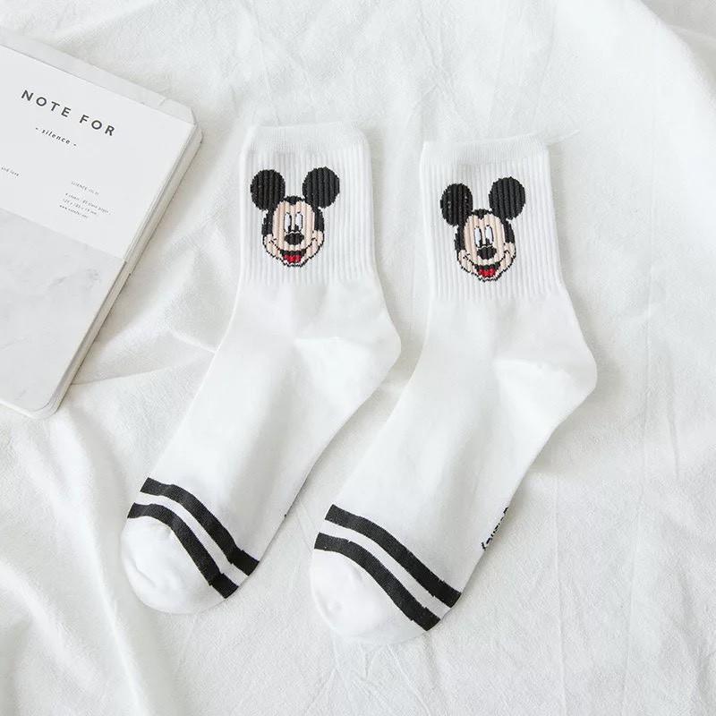 Set 5 đôi Vớ tất nam nữ họa tiết hoạt hình Disney cute TN74