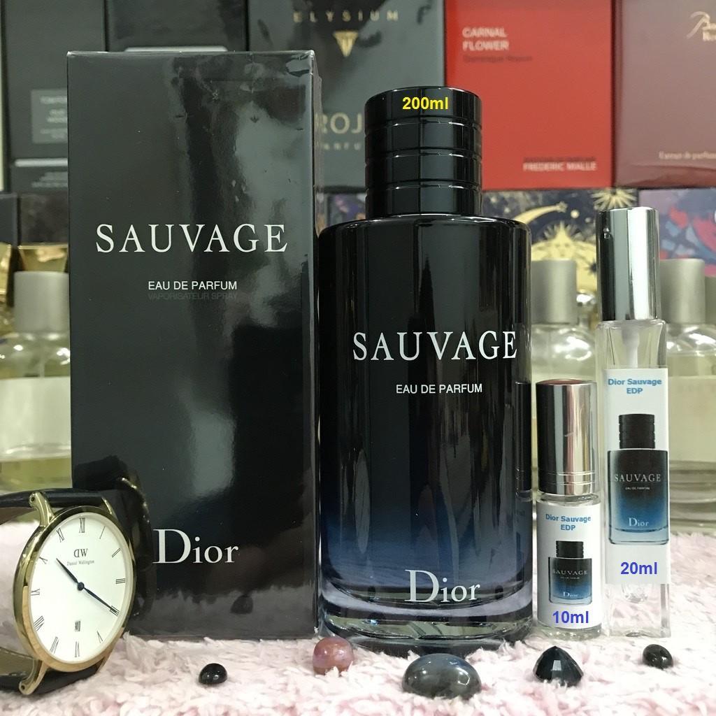 Nước Hoa Nam Dior Sauvage EDP - Nước Hoa Nam Chính Hãng (90% Nam Đã Xịt Là Nghiện)