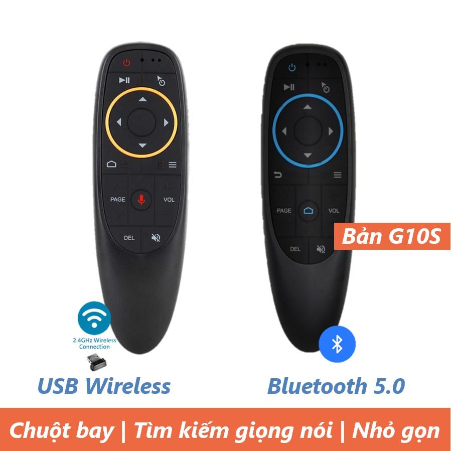 Điều khiển Chuột bay tìm kiếm giọng nói Air Mouse Remote Voice G10 / G10S / Q6 / V1