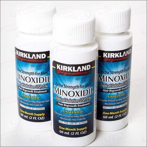 Thuốc mọc râu Minoxidil 5% Kirkland ( Mỹ)