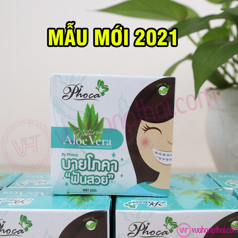 Kem đánh răng PhoCa xanh Dương Dành Cho Người Niềng Răng - 100% thiên nhiên, SX Thái Lan