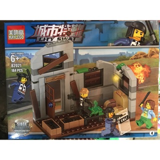 Lego CITY SWAT 82021 (184pcs)