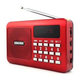 Loa nghe nhạc USB thẻ nhớ Craven CR-16 (Đỏ) - 2515653 , 62260677 , 322_62260677 , 159000 , Loa-nghe-nhac-USB-the-nho-Craven-CR-16-Do-322_62260677 , shopee.vn , Loa nghe nhạc USB thẻ nhớ Craven CR-16 (Đỏ)