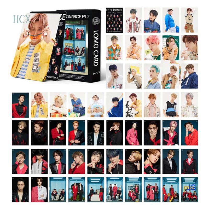 Bộ 54 Thẻ Hình Kèm Chữ Ký Cho Fan Hâm Mộ Js Nct 2020 Resonance Pt. 2 Kihno