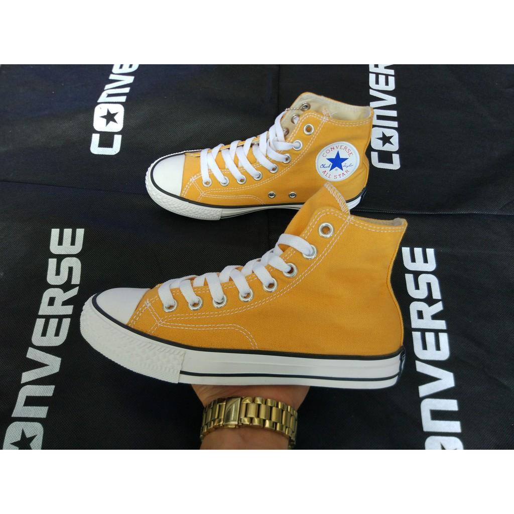 [⚡️ỉ lẻ] Giày cv 1970s vàng cổ cao ẢNH THẬT - (full box)