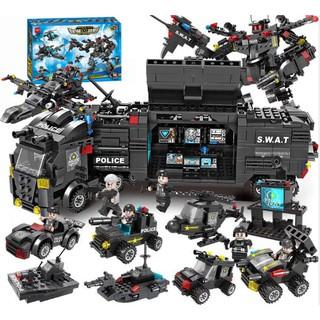 Bộ lắp ráp kiểu lego Swat 27 mô hình chiến tranh thế giới