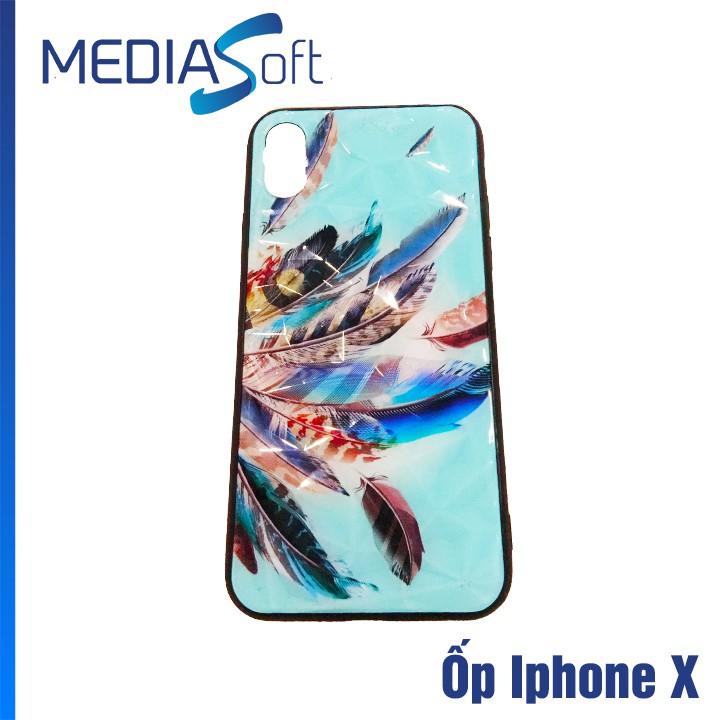Ốp Lưng Chống Trầy, Chống Bẩn Đặc Biệt Dành Cho Iphone X Loại Vân