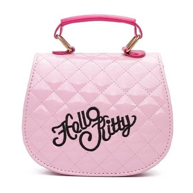 b651f2ee2 3G3 Al Sahhia Ready Stock Kawaii Cute Pretty Bow Hello Kitty PU Handbag Kid  Girls Bag Sling Beg