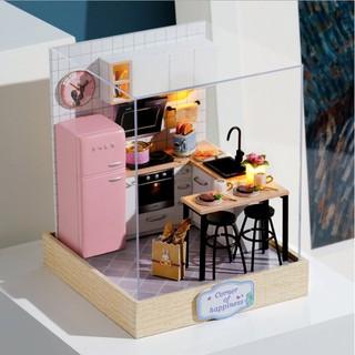 Mô hình lắp ghép nhà búp bê Taste Of Life – bộ Corner of Happiness