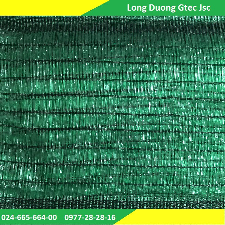 Lưới che nắng Thái Lan khổ 3mx5m màu xanh 60%