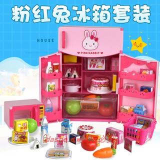 đồ chơi thỏ màu hồng