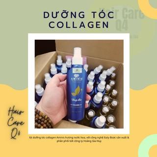 Xịt Dưỡng Tóc Collagen Aminis CÔNG NGHỆ ITALY Hàng Cty Chính Hãng thumbnail