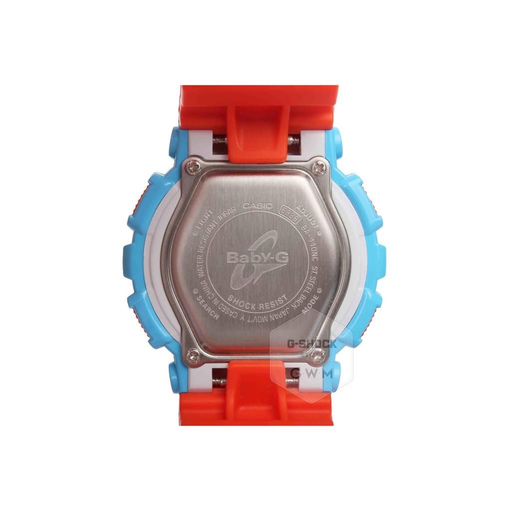 Đồng hồ Nữ Baby-G Casio dây nhựa điện tử BA-110NC-2ADR - Chính hãng Casio Anh Khuê