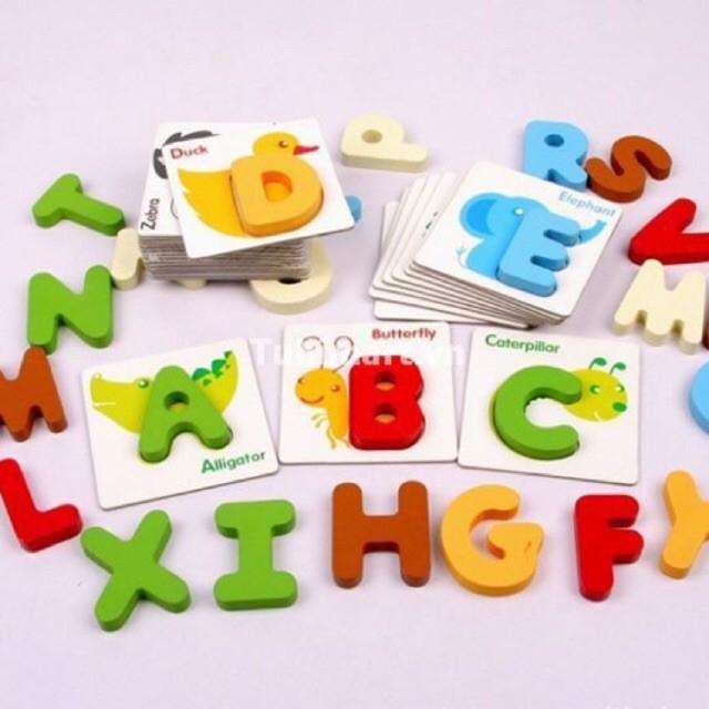 [Ana Kids] Bộ ghép chữ cái tiếng Anh 3D - Đồ chơi giáo dục gỗ cho bé FRESHIP 99k - 21889347 , 2657736748 , 322_2657736748 , 167700 , Ana-Kids-Bo-ghep-chu-cai-tieng-Anh-3D-Do-choi-giao-duc-go-cho-be-FRESHIP-99k-322_2657736748 , shopee.vn , [Ana Kids] Bộ ghép chữ cái tiếng Anh 3D - Đồ chơi giáo dục gỗ cho bé FRESHIP 99k