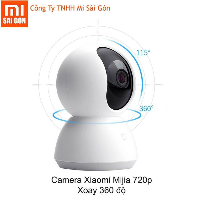 Camera Ip mijia xoay 360 độ 720p hồng ngoại