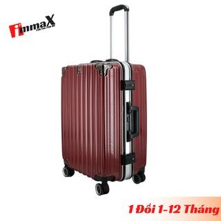 Vali nhựa khung nhôm nắp gập immaX A18 size ký gửi hành lý 24inch bảo hành 2 năm chính hãng, 1 đổi 1 trong 12 tháng thumbnail