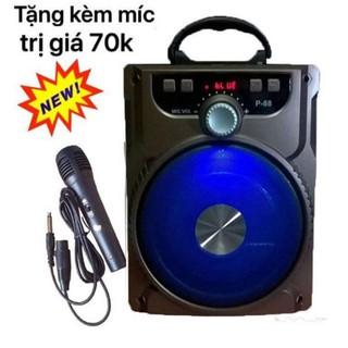 [Mã ELFLASH5 giảm 20K đơn 50K] Loa hát Nhạc Hát karaoke Bluetooth P88.