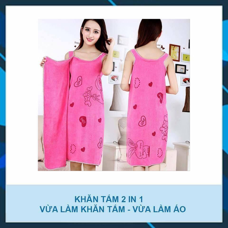 Khăn tắm đa năng 2 in 1 - Vừa là khăn vừa là áo tắm - 3182694 , 610845213 , 322_610845213 , 90000 , Khan-tam-da-nang-2-in-1-Vua-la-khan-vua-la-ao-tam-322_610845213 , shopee.vn , Khăn tắm đa năng 2 in 1 - Vừa là khăn vừa là áo tắm