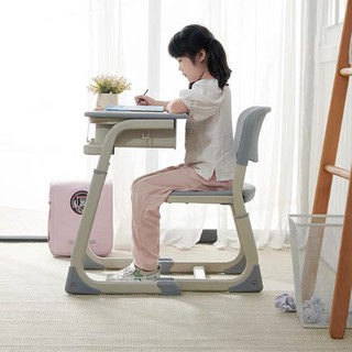 Bàn ghế học sinh Omega có ngăn kéo, bộ bàn ghế học sinh chống cận