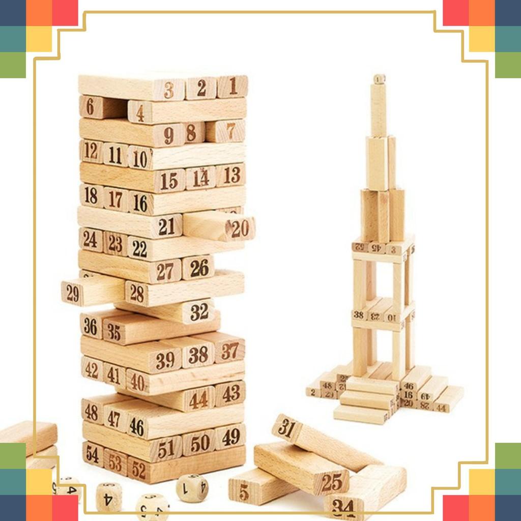 Bộ đồ chơi rút gỗ Wiss Toy giá rẻ *Cao Cấp*