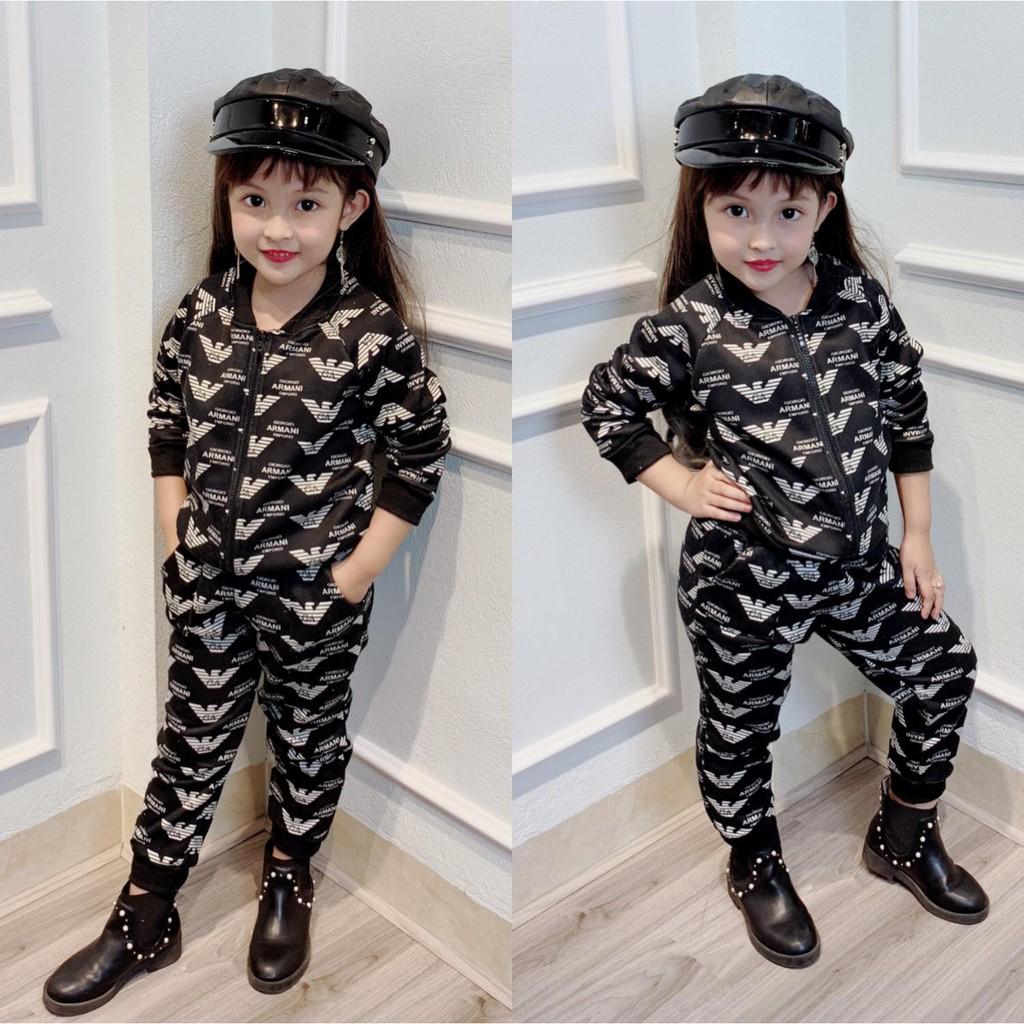 Bộ nỉ bông phong cách và đẳng cấp cực hot cho bé trai, bé gái- BNBH