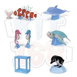 Mô hình giấy Hồ cá đại dương – Nhật Bản