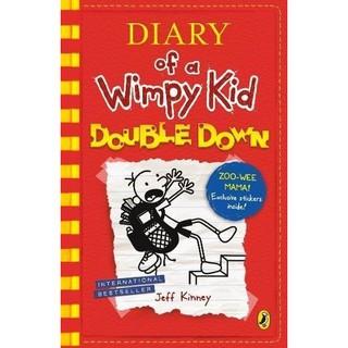 Sách Diary Of A Wimpy Kid - Chú Bé Nhút Nhát Double Down (Vol 11- Phiên bản Tiếng Anh) thumbnail
