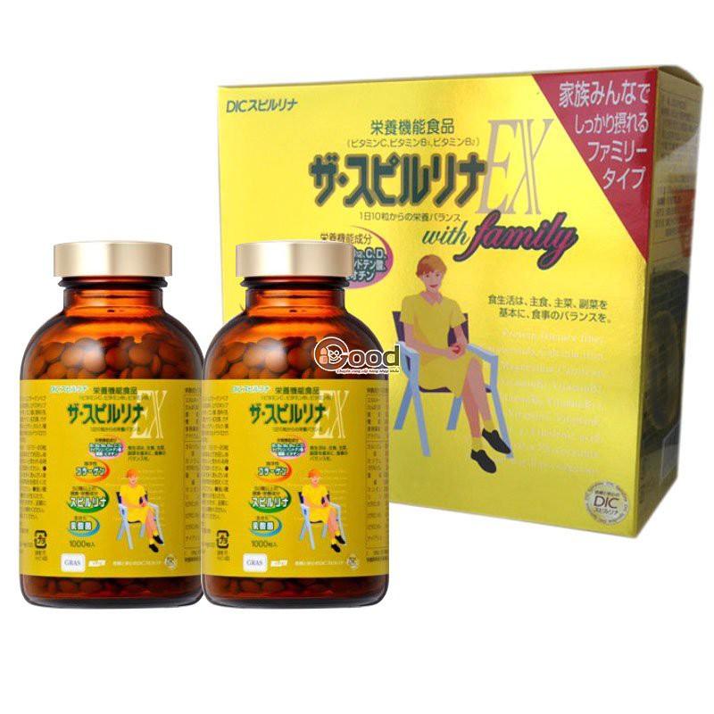 Combo 5 hộp tảo vàng Spirulina Nhật Bản 2000 viên - 2446978 , 391770381 , 322_391770381 , 7750000 , Combo-5-hop-tao-vang-Spirulina-Nhat-Ban-2000-vien-322_391770381 , shopee.vn , Combo 5 hộp tảo vàng Spirulina Nhật Bản 2000 viên
