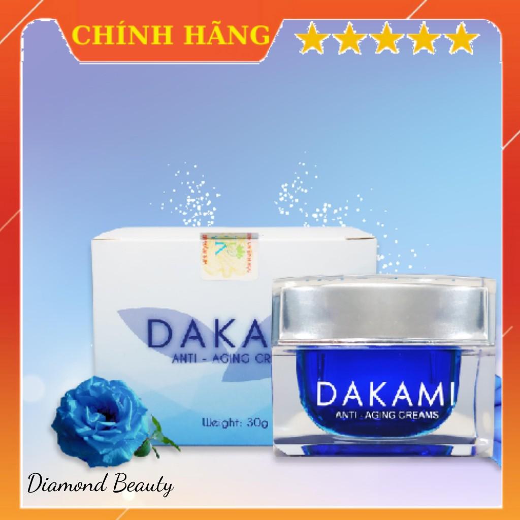 Kem chống lão hóa, dưỡng trắng Dakami hiệu quả chỉ sau 20 ngày sử dụng, ĐẦY ĐỦ giấy tờ kiểm định giá rẻ