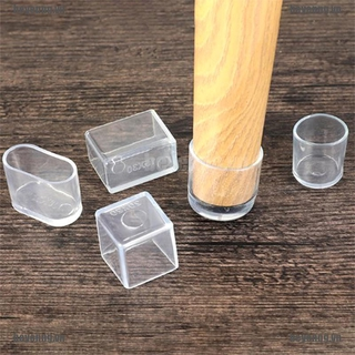 BEY 4pcs Chair Leg Caps Rubber Feet Protector Pads Furniture Table Covers Sock