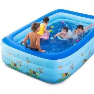 FREESHIP 50K-Bể bơi 3 tầng có đáy chônga trượt 1m5