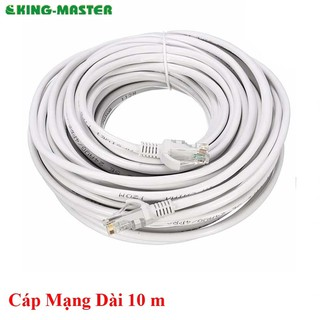 Dây cáp mạng LAN Internet KingMaster bấm sẵn 10m thumbnail