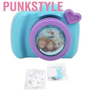 Punkstyle DIY 3D Cute Simulation Camera Shape Sticker Printing Making Machine Toy