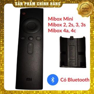 Điều khiển Xiaomi Mi box Mini đen, 3c, 3s, 4a, 4c (Kết nối Bluetooth)