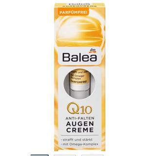 Kem dưỡng mắt Balea Augen Creme Q10 giảm nếp nhăn, hàng Đức