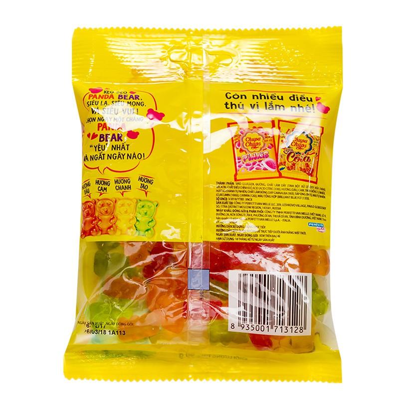 [Mã GRO1CHUPS11 giảm tối đa 20K đơn 99K] Kẹo Dẻo Chupa Chups Gấu Panda Gói 90g