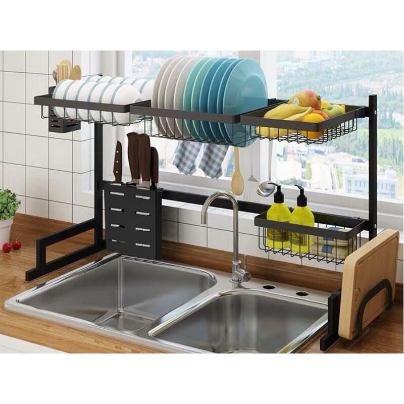 Kệ Chén Đa Năng SenNai - Giá Để Bát Đũa Thông Minh Nhà Bếp