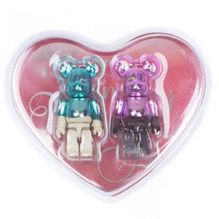100% Bearbrick Valentine Set