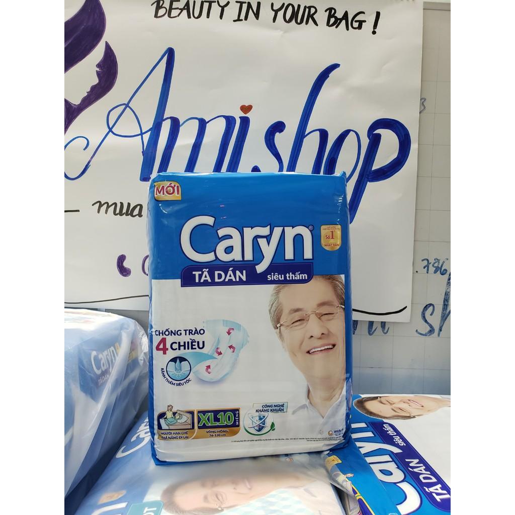 Tã dán Caryn XL10 [DATE MỚI]