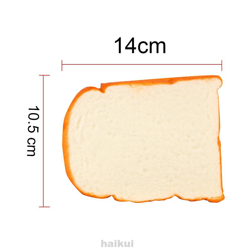 Simulation Bread Hand Pillow Kitchen Toys Slow Rebound Miniature Soft Home Sliced Toast Ornament