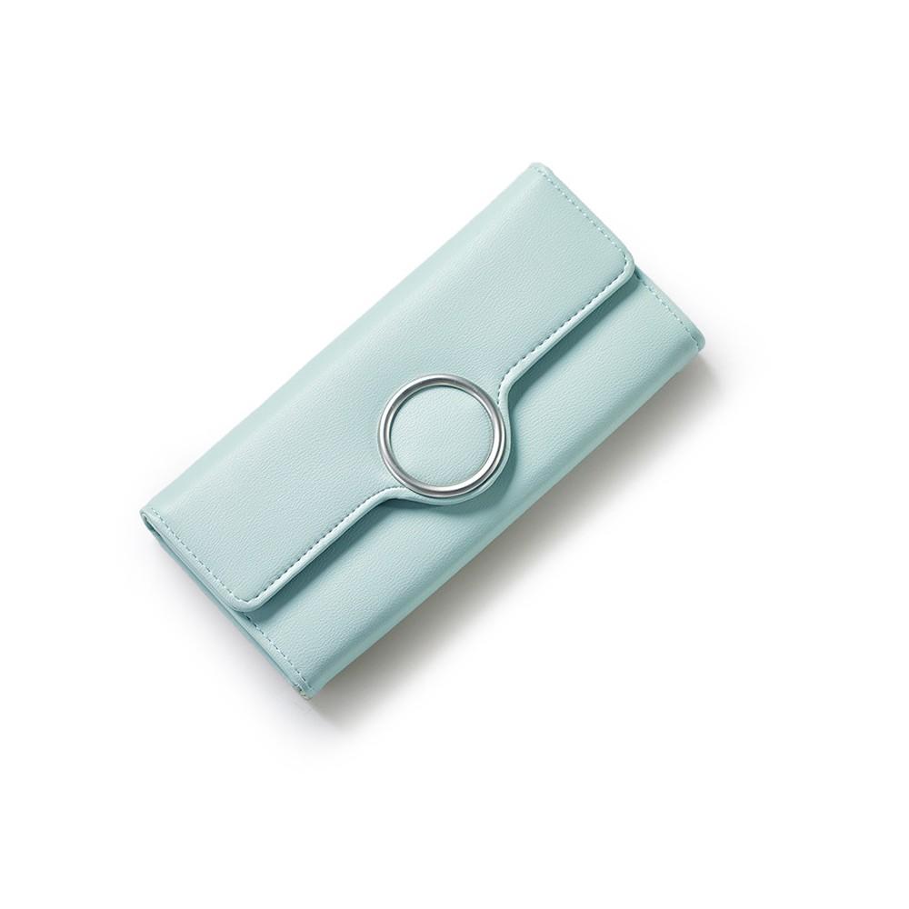 Ví dài độc đáo, ví nữ thời trang, ví cầm tay nữ, ví nữ tiện dụng đựng thẻ VI1006 ( xanh ngọc) - 3221442 , 374334576 , 322_374334576 , 260000 , Vi-dai-doc-dao-vi-nu-thoi-trang-vi-cam-tay-nu-vi-nu-tien-dung-dung-the-VI1006-xanh-ngoc-322_374334576 , shopee.vn , Ví dài độc đáo, ví nữ thời trang, ví cầm tay nữ, ví nữ tiện dụng đựng thẻ VI1006 ( xanh