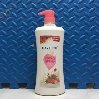 Sữa tắm Hazeline yến mạch dâu tằm 670g SIÊU SALE Sữa tắm Hazeline dưỡng ẩm sáng da rạng ngời thuần khiết thumbnail