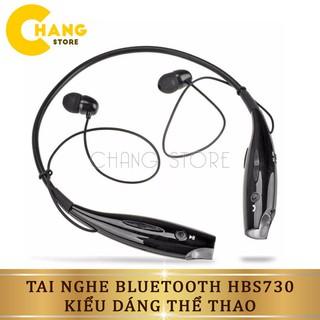 Tai nghe bluetooth thể thao HBS 730 kèm mic chống ồn chất lượng âm thanh trung thực, rõ ràng