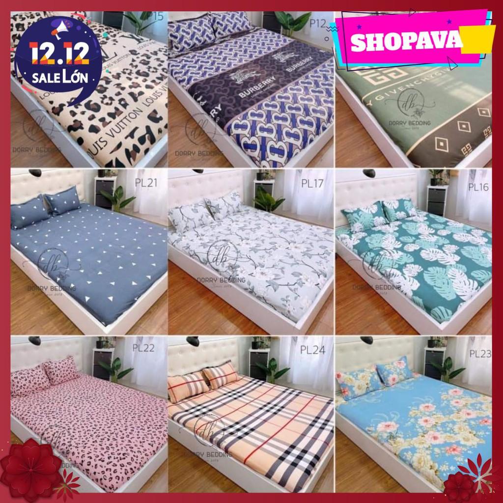 [Xả gấp]Ga trải giường có bo chun sẵn 1m2,1m4,1m5,1m6,1m8