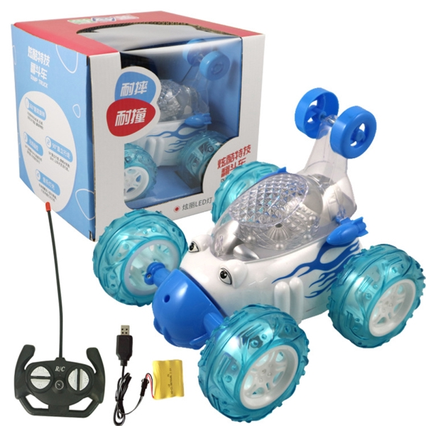 LED Flash Music Remotel Control Car Toys Truck Toys 360 Degree Dump Truck Music Flash Truck Car